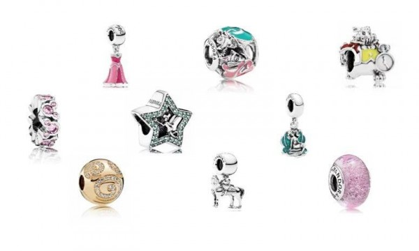 9f5d3f26e A stunning new assortment of Disney Pandora charms has arrived. These  shimmering baubles are perfect for spring, with their cheerful colors and  happy ...