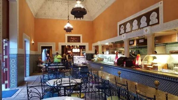 Tangerine Cafe Interior