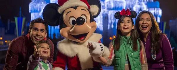 Holidays Santa Mickey