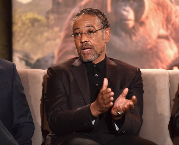"""LOS ANGELES, CALIFORNIA - APRIL 04: Actor Giancarlo Esposito onstage at Disney's """"THE JUNGLE BOOK"""" Press Conference at The Beverly Hilton on April 4, 2016 in Los Angeles, California. (Photo by Alberto E. Rodriguez/Getty Images for Disney) *** Local Caption *** Giancarlo Esposito"""