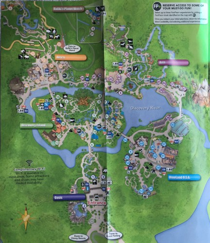 New Animal Kingdom Guide Map is Now Available on mgm studios map, columbus zoo and aquarium map, kennywood map, epcot map, disneyland map, old town map, disney map, universal map, wekiwa springs state park map, busch gardens map, hollywood studios map, dollywood map, hersheypark map, magic kingdom map, aquatica map, holy land experience map, kennedy space center map, adventure island map, animal kingdom map,
