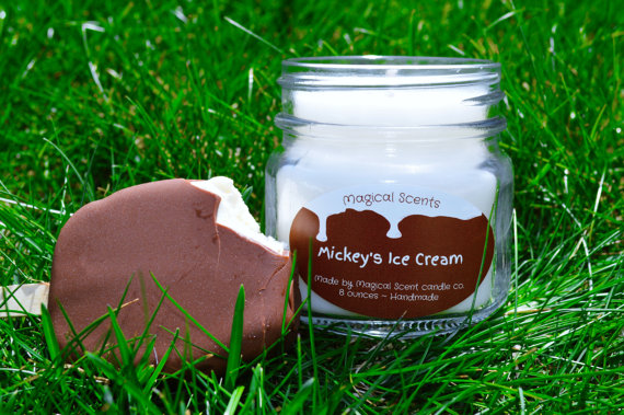Mickey Ice Cream Candles