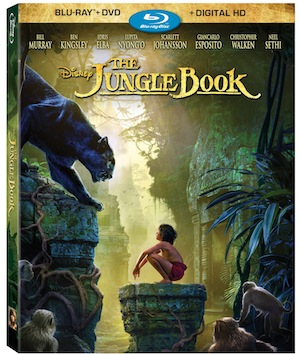 The Jungle Book Blu ray