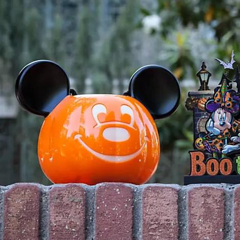 Mickey Mouse Pumpkin Bucket