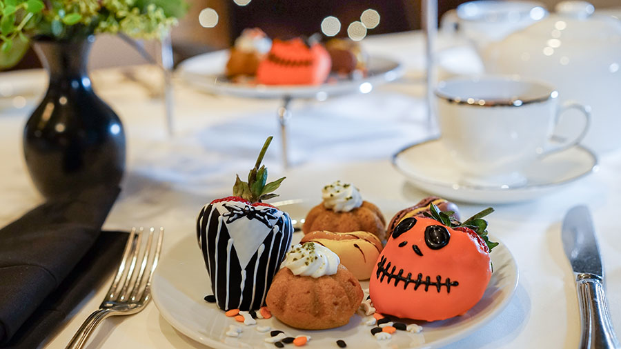 new halloween tea party coming to steakhouse 55 in the disneyland hotel this fall