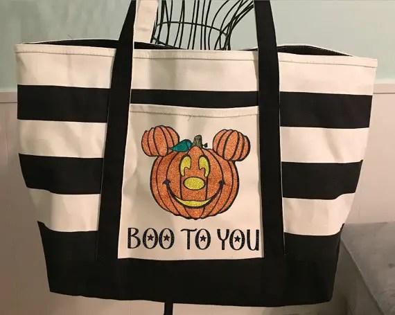 Halloween Mickey Tote Bag