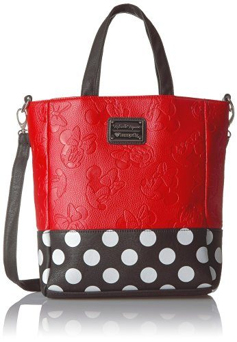 Loungefly Embossed Leather Red Minnie Mouse Purse