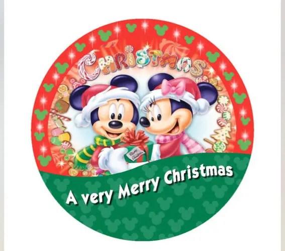 Merry Christmas Disney.Say I M Celebrating With Christmas Disney Buttons