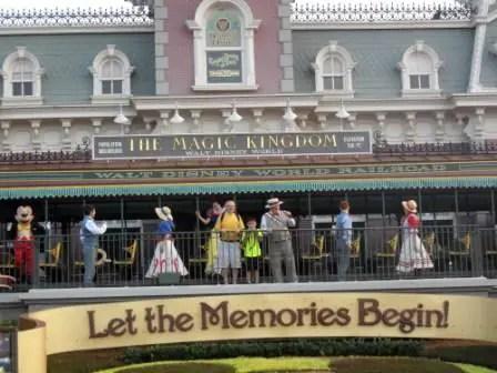 Magic Kingdom Opening