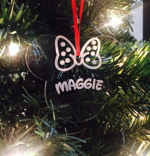 Beautiful Personalized Disney Ornaments That Hang Up With Style
