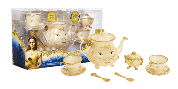 Beauty and the Beast Live Action Enchanted Tea Set Play set