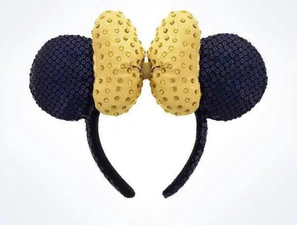 Gold Minnie Ears