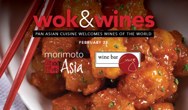Morimoto Asia and Wine Bar George pair up for special 'Wok and Wines' Dinner 1