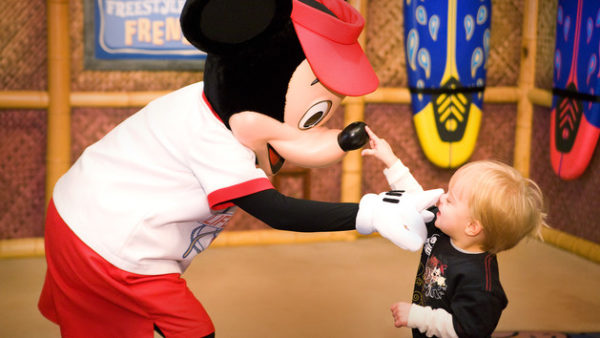 Disney World Character Meal Tips with Toddlers 1