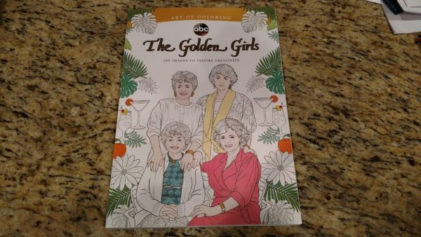 Art Of Coloring Presents The Golden Girls Coloring Book