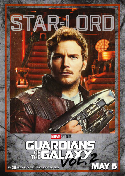 """Guardians Of The Galaxy Vol 2"" New Posters, New Trailer, tickets now available 1"