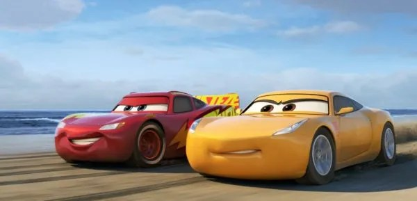 Draw Cars 3 Characters