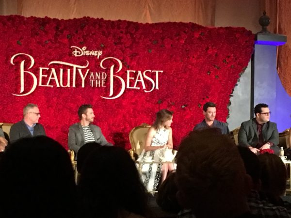"""Magic and The """"Beauty And The Beast"""" Press Conference 4"""