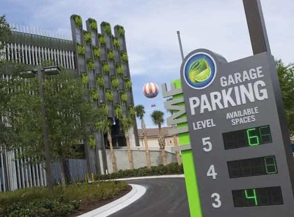 Parking Garage Disney Springs