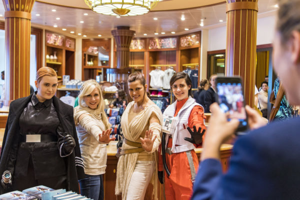 Epic Star Wars Day at Sea Experiences Aboard the Disney Fantasy 2