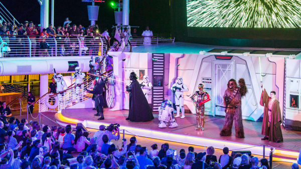 Epic Star Wars Day at Sea Experiences Aboard the Disney Fantasy 1