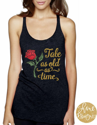 Tale as Old as Time Beauty and the Beast Shirt