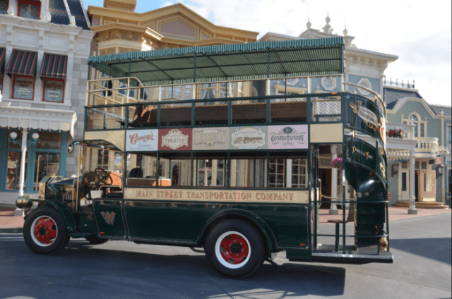 Dapper Day Photo Opportunity with Main Street Bus