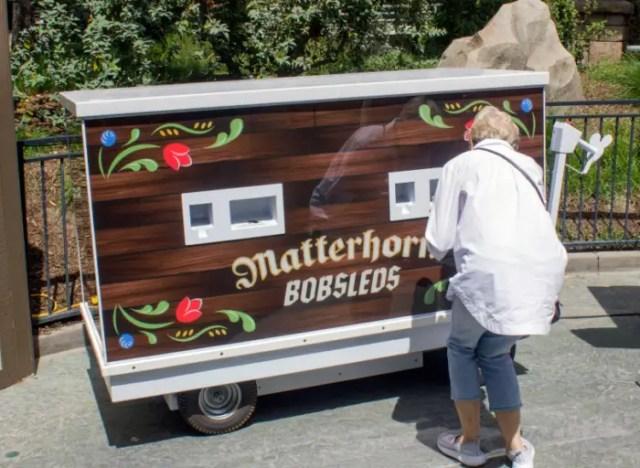 Matterhorn FastPass Kiosk