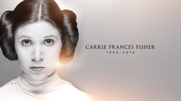 LucasFilm Releases Touching Video Tribute to Carrie Fisher 1