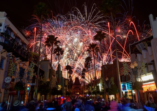 Star Wars: A Galactic Spectacular fireworks