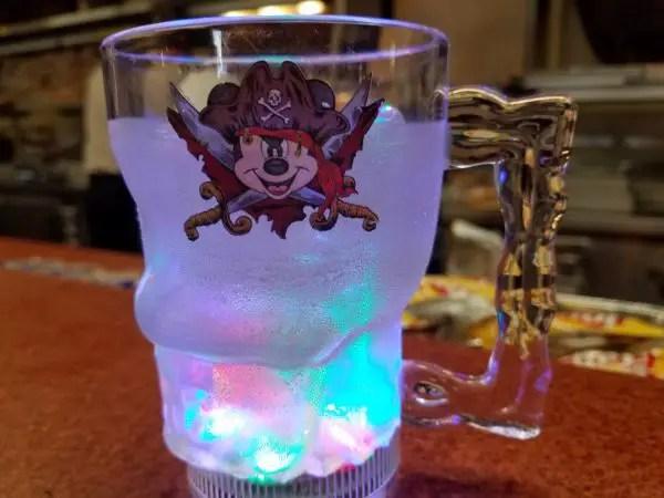 Magic Kingdom's Tortuga Tavern Debuts Mickey Mouse Pirate Glow Cup 1