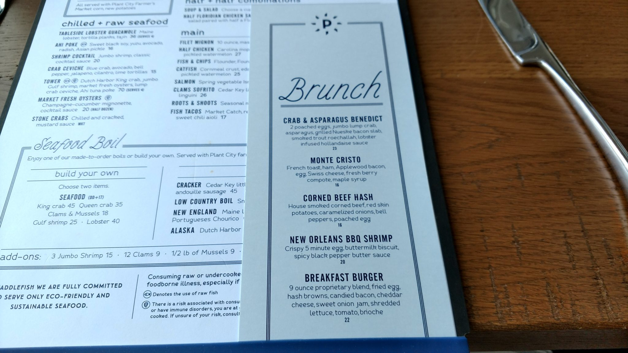 Review: Sunday Brunch at Paddlefish in Disney Springs - Chip and Co