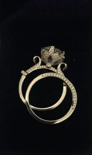 Wow! A Stunning Mickey Mouse Engagement Ring 1