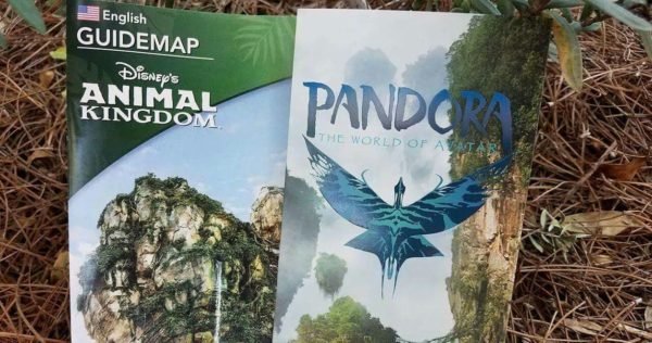 First Look at the New Animal Kingdom GUIDEMAP and New Pandora - The World of Avatar Guide 1
