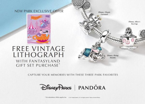 New Disney Parks Exclusive Pandora Charms Available In Disney Springs Chip And Company