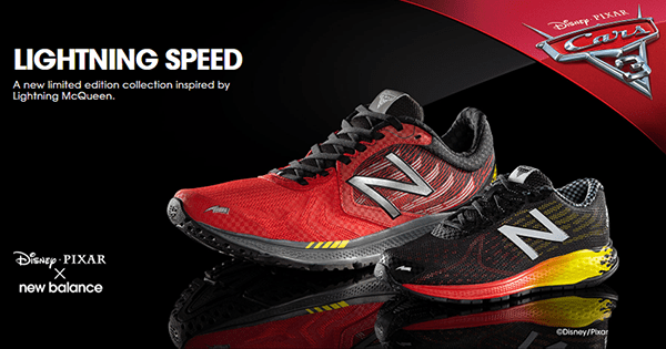 Cars 3 New Balance Sneakers