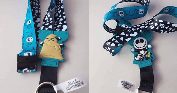 New Reversible Disney Character Lanyards Showing up at the Disney Parks