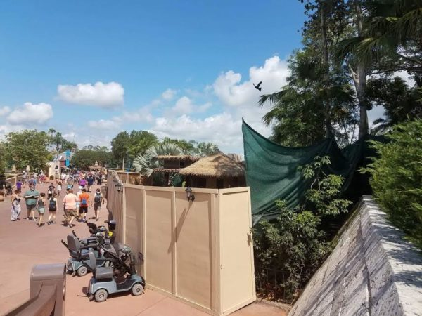 Updated Construction Photos of Epcot's New Margarita Stand 1