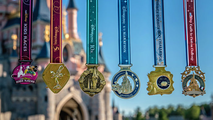 Disneyland Paris Marathon Medals