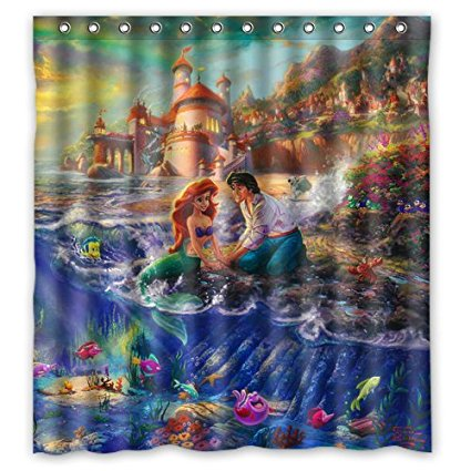 Five Unique Disney Inspired Shower Curtains We Love 5