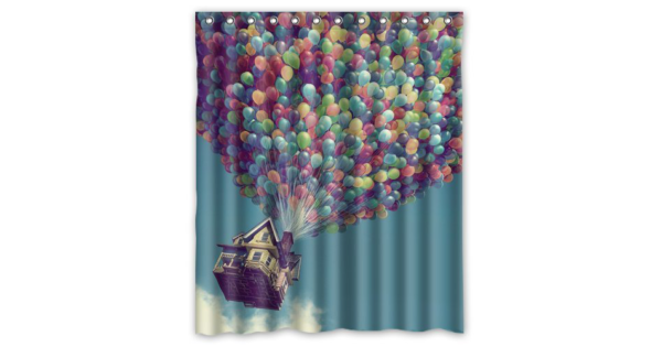 Unique Disney Inspired Shower Curtains