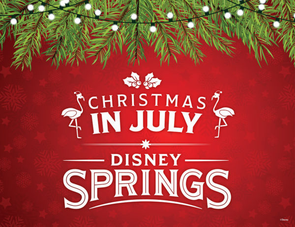 Christmas in July Comes to Disney Springs 1