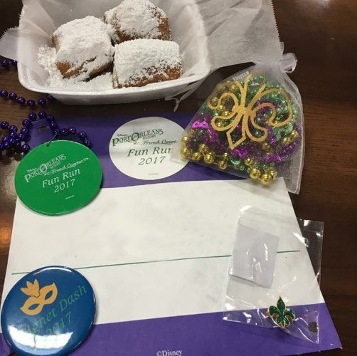 """Join The """"Beignet Dash"""" Fun Run Every Sunday At Port Orleans 1"""