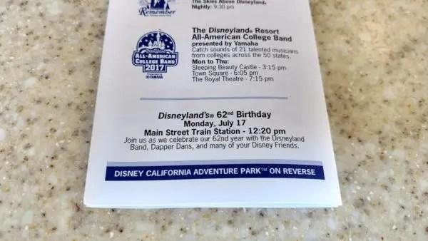 Disneyland's 62nd Birthday Celebration Today at 12:20pm (PDT) 3