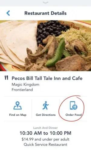 Pecos Bill Mobile Order