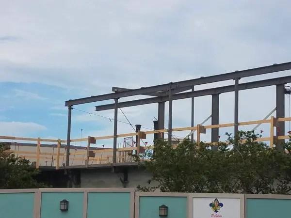 Construction Update on Wine Bar George in Disney Springs 2