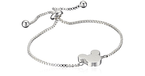 a2937f5e0ea99 Simple and Stylish Adjustable Mickey Mouse Bracelet