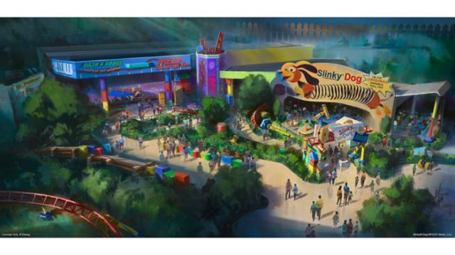 Toy Story Land Will Open Summer Of 2018 At Hollywood Studios 1