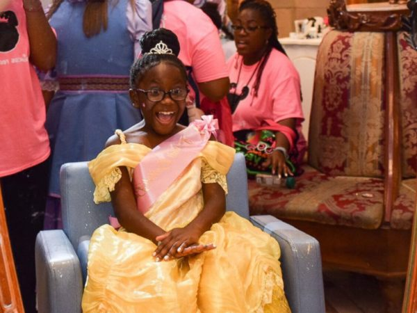 Seven Year Old Hosts Princess Party at Disney World for Less Fortunate Children 2