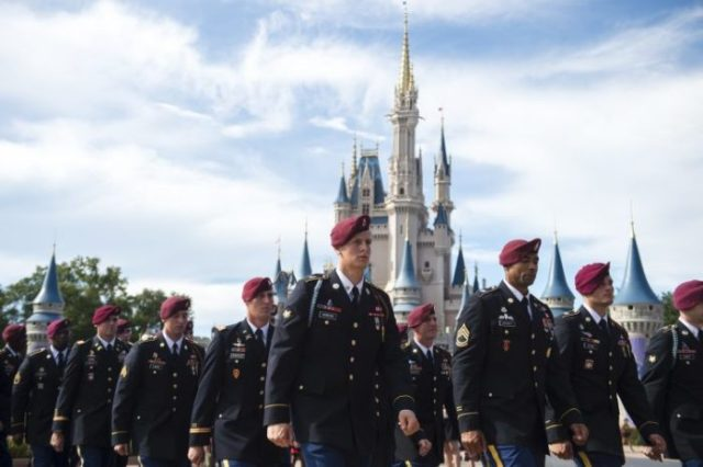Walt Disney World Honors U.S. Army's 82nd Airborne Division 2
